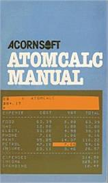Box cover for AtomCalc on the Acorn Atom.