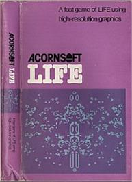 Box cover for Life on the Acorn Atom.