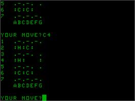 In game image of Condot on the Acorn Atom.