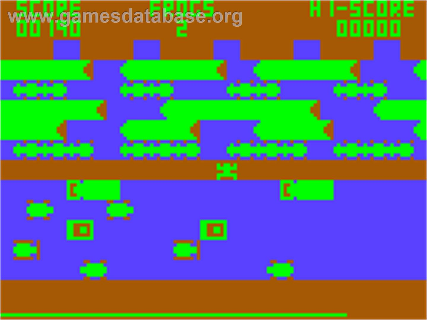 Frogger - Acorn Atom - Artwork - In Game