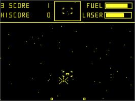 Title screen of Cylon Attack on the Acorn Atom.