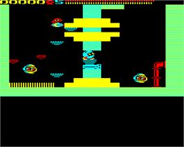 In game image of Network on the Acorn BBC Micro.