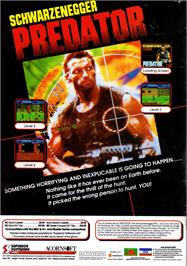 Advert for Predator on the Acorn Electron.