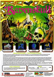 Advert for Ravenskull on the Acorn Electron.