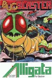 Box cover for Bug Blaster on the Acorn Electron.