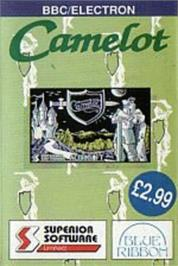 Box cover for Camelot on the Acorn Electron.