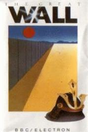 Box cover for Great Wall on the Acorn Electron.