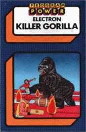 Box cover for Killer Gorilla on the Acorn Electron.