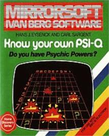 Box cover for Know Your Own PSI-Q on the Acorn Electron.