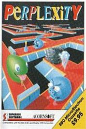Box cover for Perplexity on the Acorn Electron.