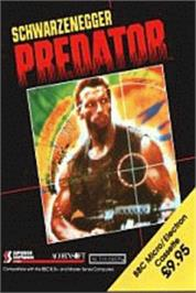 Box cover for Predator on the Acorn Electron.