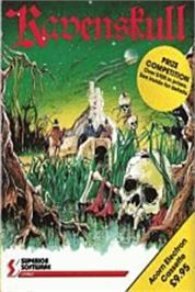 Box cover for Ravenskull on the Acorn Electron.