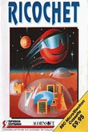 Box cover for Ricochet on the Acorn Electron.