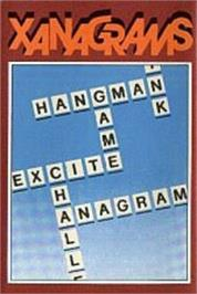 Box cover for Xanagrams on the Acorn Electron.