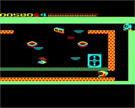 In game image of Network on the Acorn Electron.