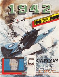 Box cover for 1942 on the Amstrad CPC.