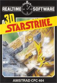 Box cover for 3D Starstrike on the Amstrad CPC.
