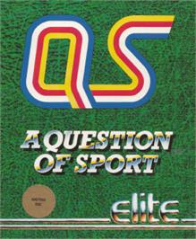 Box cover for A Question of Sport on the Amstrad CPC.