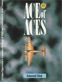 Box cover for Ace of Aces on the Amstrad CPC.