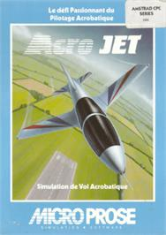 Box cover for Acrojet on the Amstrad CPC.