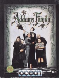 Box cover for Addams Family, The on the Amstrad CPC.