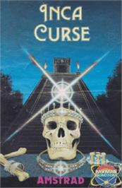 Box cover for Adventure B: Inca Curse on the Amstrad CPC.
