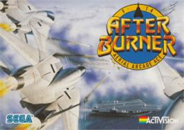 Box cover for After Burner on the Amstrad CPC.