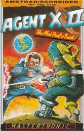 Box cover for Agent X 2: The Mad Prof's Back on the Amstrad CPC.
