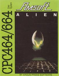 Box cover for Alien on the Amstrad CPC.