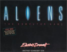Box cover for Aliens on the Amstrad CPC.