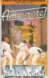 Box cover for Amaurote on the Amstrad CPC.