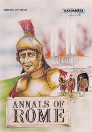 Box cover for Annals of Rome on the Amstrad CPC.
