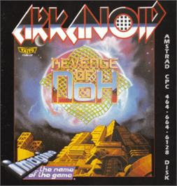 Box cover for Arkanoid - Revenge of DOH on the Amstrad CPC.