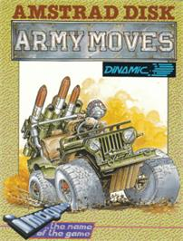 Box cover for Army Moves on the Amstrad CPC.