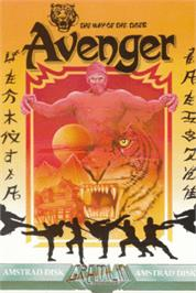 Box cover for Avenger on the Amstrad CPC.