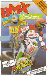 Box cover for BMX Simulator on the Amstrad CPC.