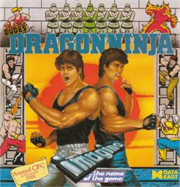 Box cover for Bad Dudes vs. Dragonninja on the Amstrad CPC.