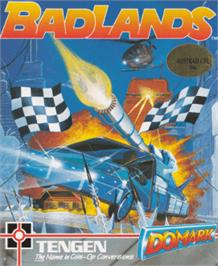 Box cover for Bad Lands on the Amstrad CPC.