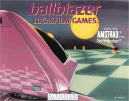 Box cover for Ballblazer on the Amstrad CPC.