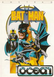 Box cover for Batman on the Amstrad CPC.