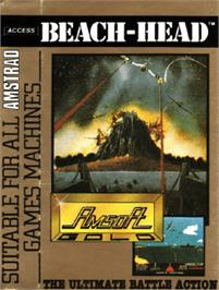 Box cover for Beach Head on the Amstrad CPC.