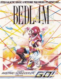 Box cover for Bedlam on the Amstrad CPC.