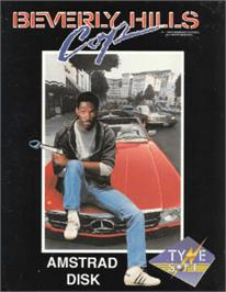 Box cover for Beverly Hills Cop on the Amstrad CPC.