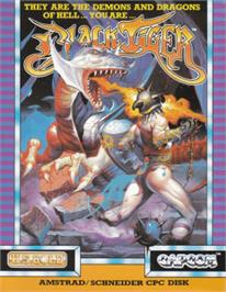 Box cover for Black Tiger on the Amstrad CPC.