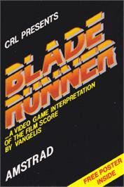 Box cover for Blade Runner on the Amstrad CPC.