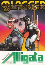 Box cover for Blagger on the Amstrad CPC.