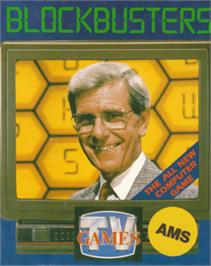Box cover for Blockbuster on the Amstrad CPC.