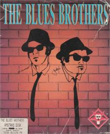 Box cover for Blues Brothers on the Amstrad CPC.