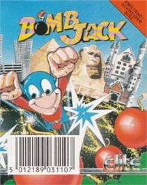 Box cover for Bomb Jack on the Amstrad CPC.