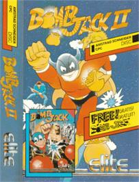 Box cover for Bomb Jack 2 on the Amstrad CPC.